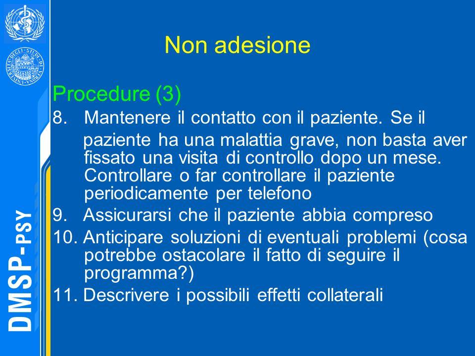 Non adesione Procedure (3)