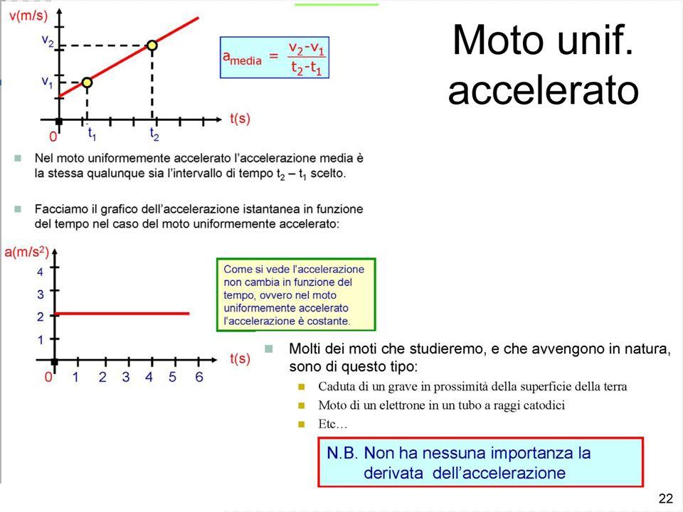 Velocità ed accelerazione