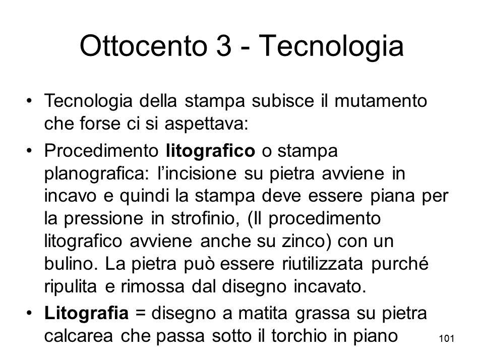 Ottocento 3 - Tecnologia
