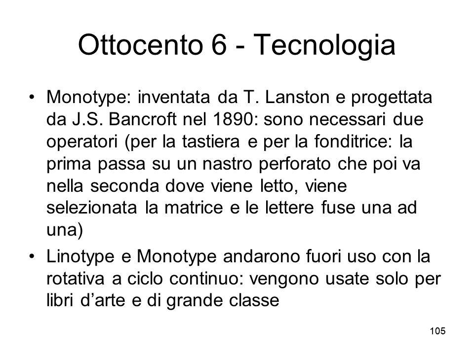 Ottocento 6 - Tecnologia