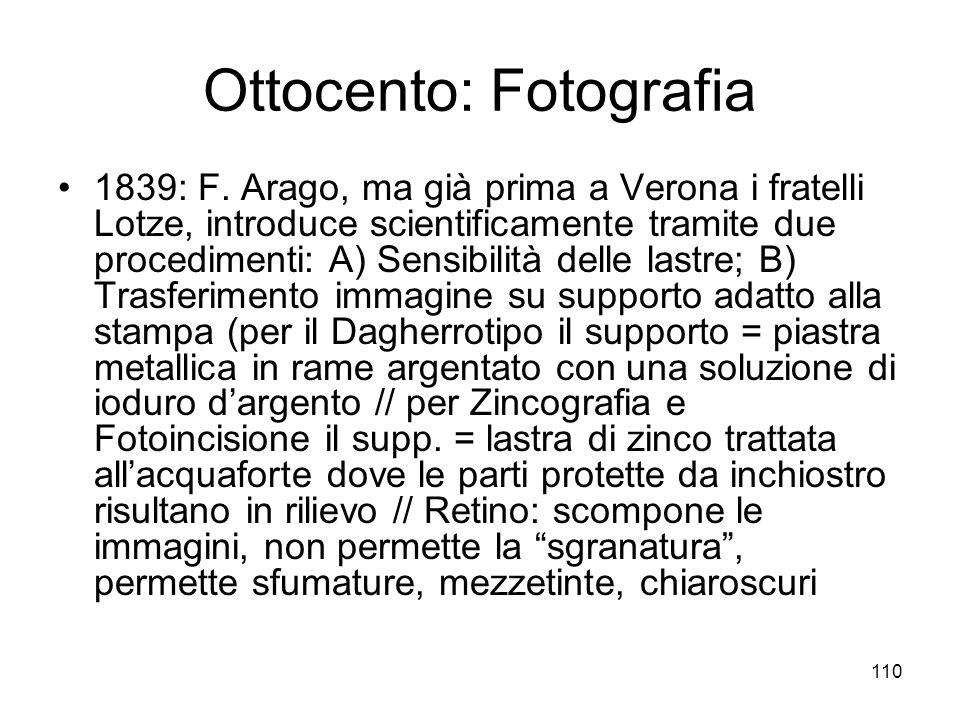 Ottocento: Fotografia