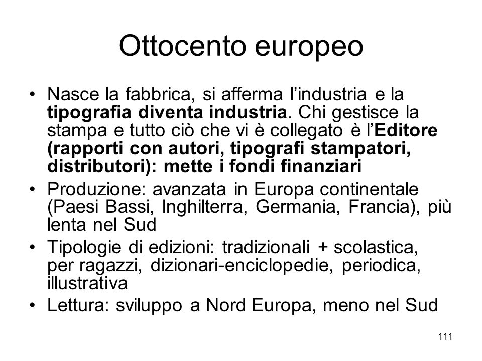 Ottocento europeo