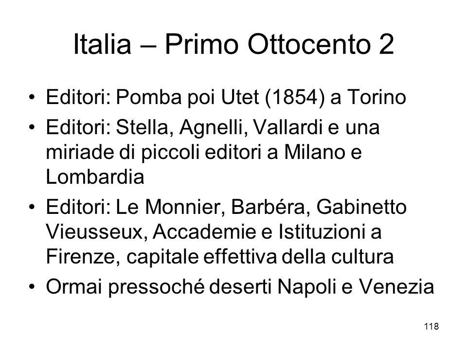 Italia – Primo Ottocento 2