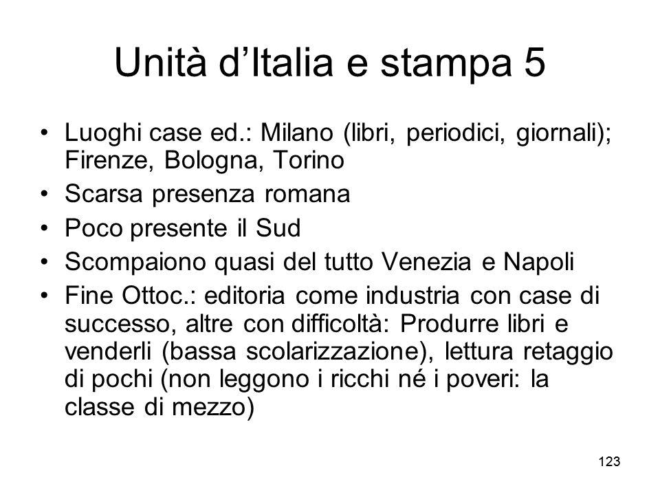 Unità d'Italia e stampa 5