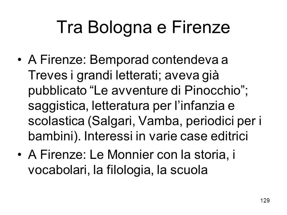 Tra Bologna e Firenze