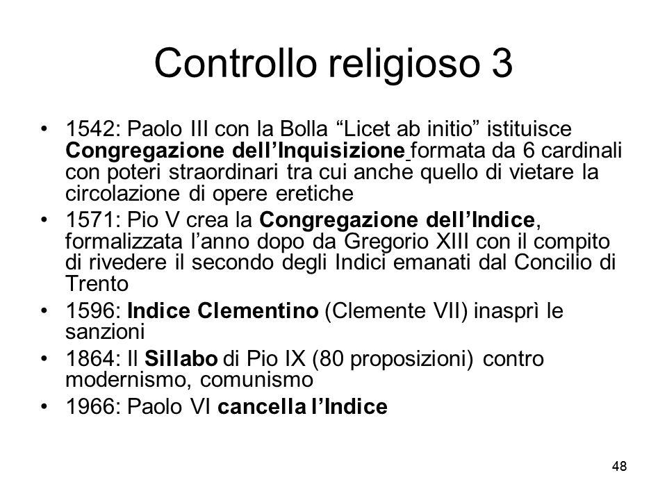 Controllo religioso 3