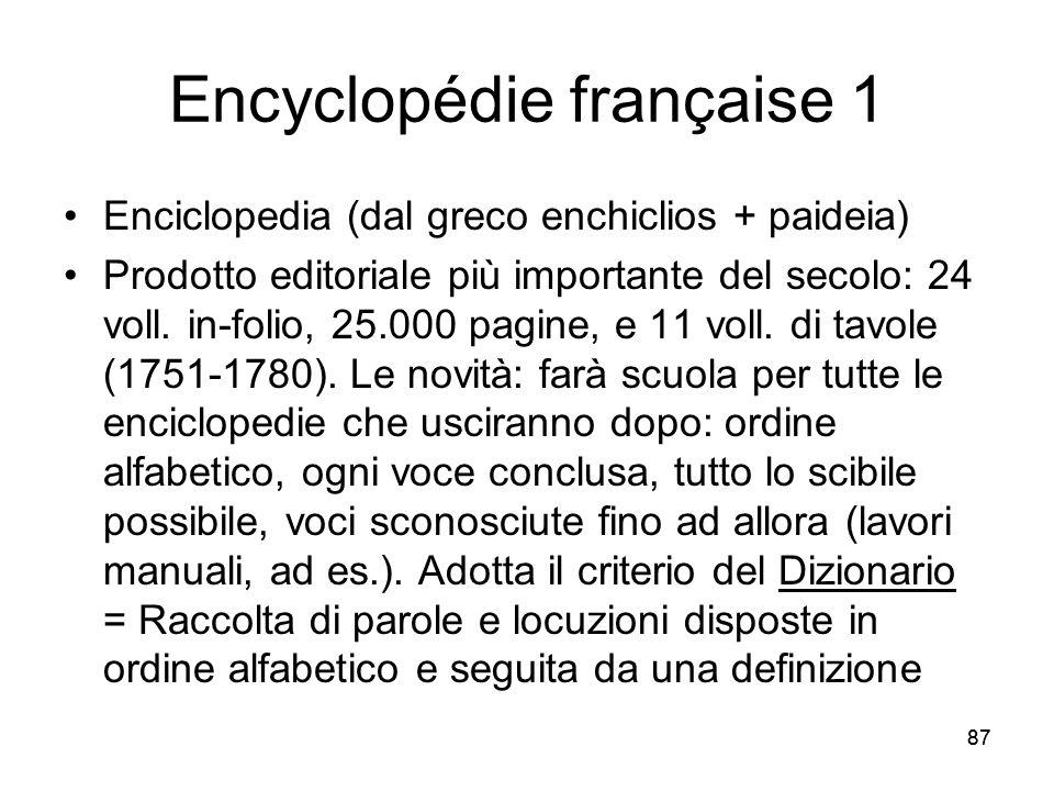Encyclopédie française 1