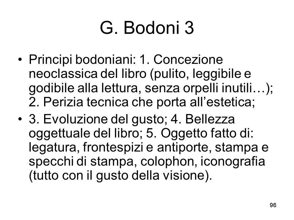 G. Bodoni 3