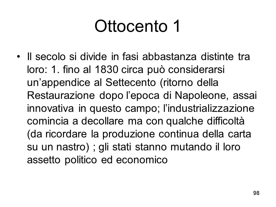 Ottocento 1