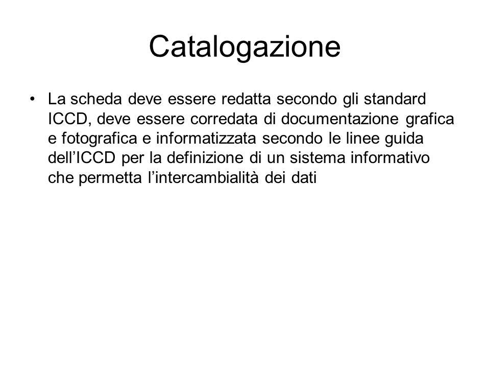 Catalogazione