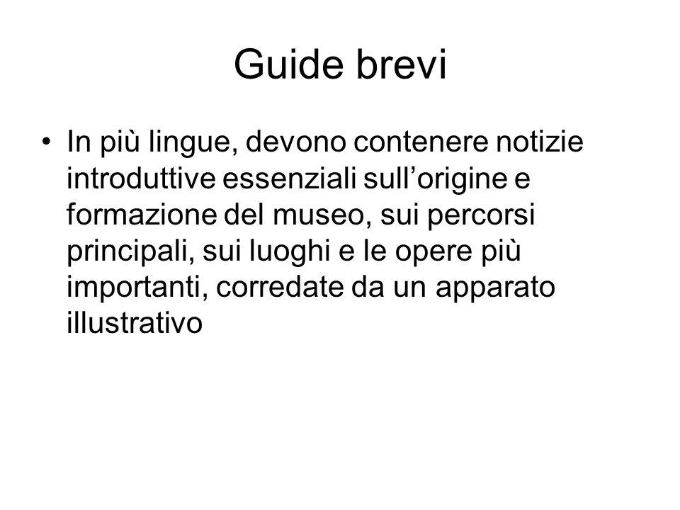 Guide brevi