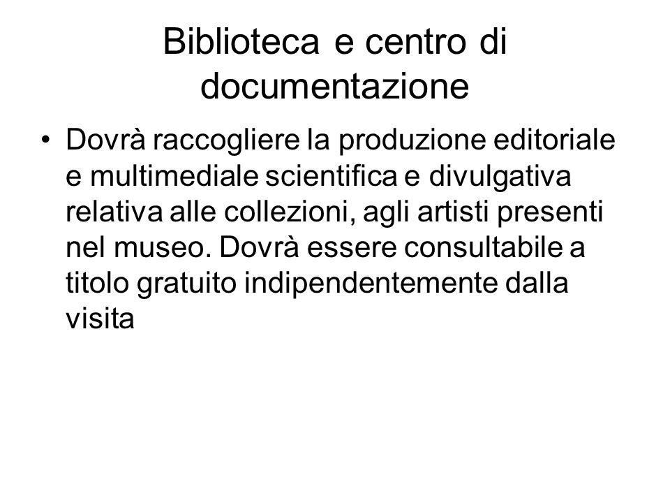 Biblioteca e centro di documentazione