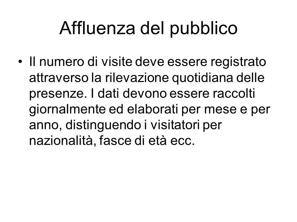 Affluenza del pubblico