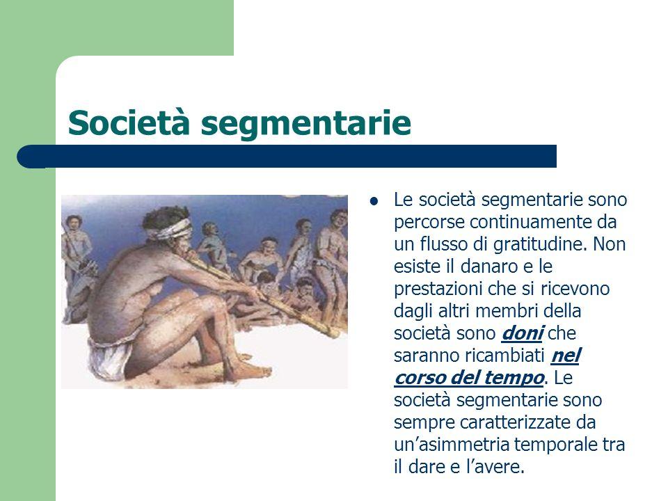 Società segmentarie