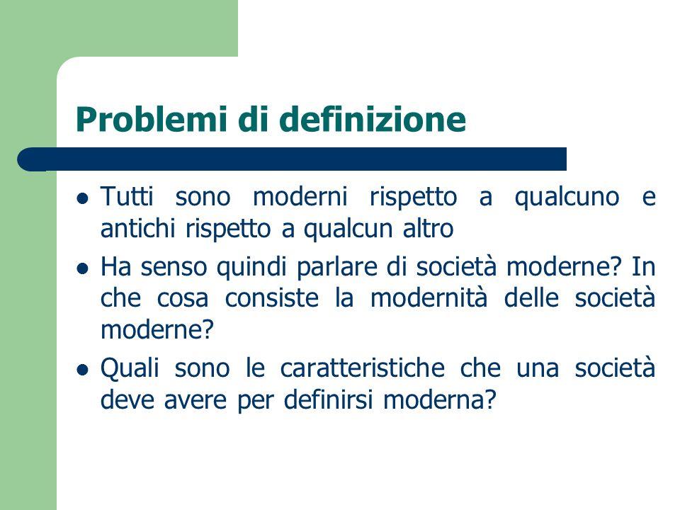 Problemi di definizione