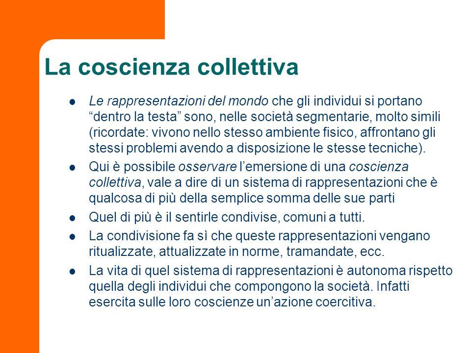 La coscienza collettiva