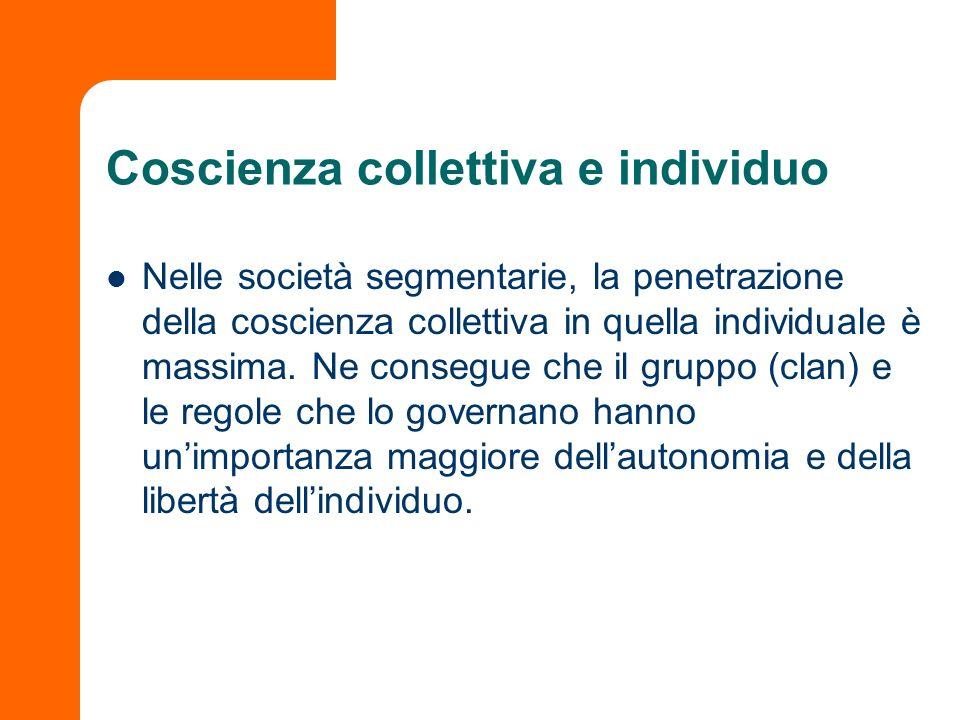 Coscienza collettiva e individuo