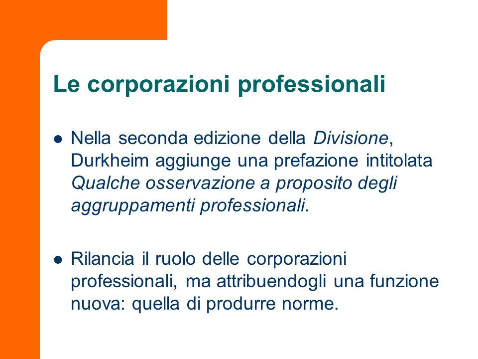 Le corporazioni professionali