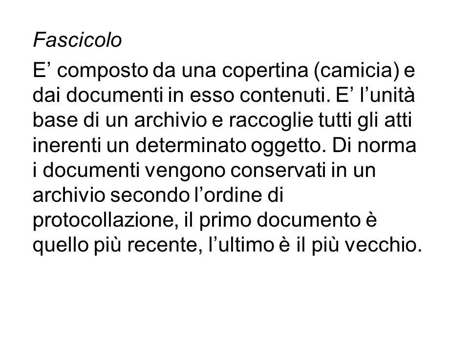 Fascicolo