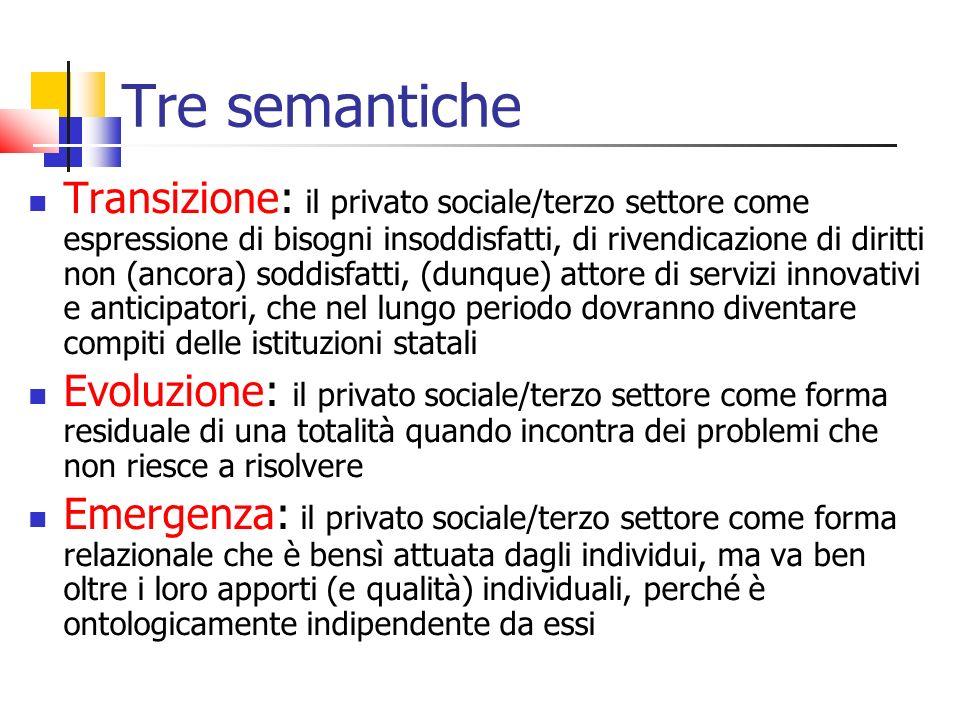 Tre semantiche