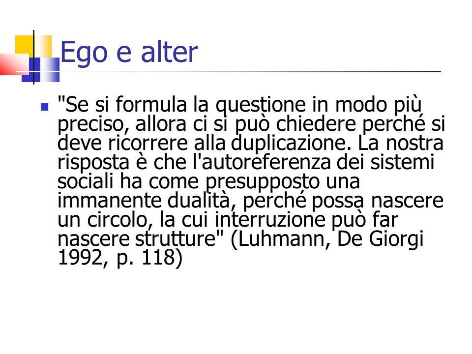 Ego e alter