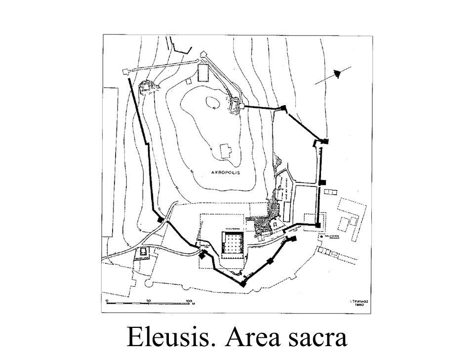 Eleusis. Area sacra
