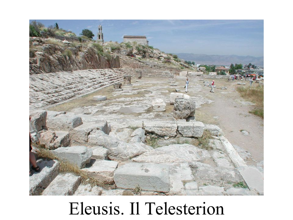 Eleusis. Il Telesterion