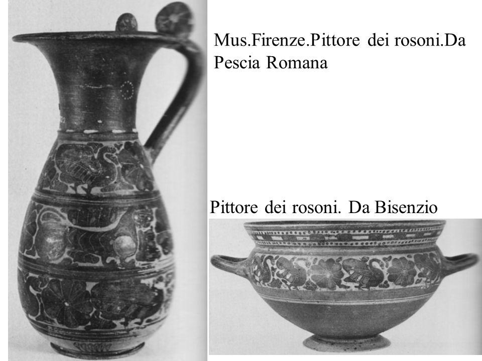 Mus.Firenze.Pittore dei rosoni.Da Pescia Romana