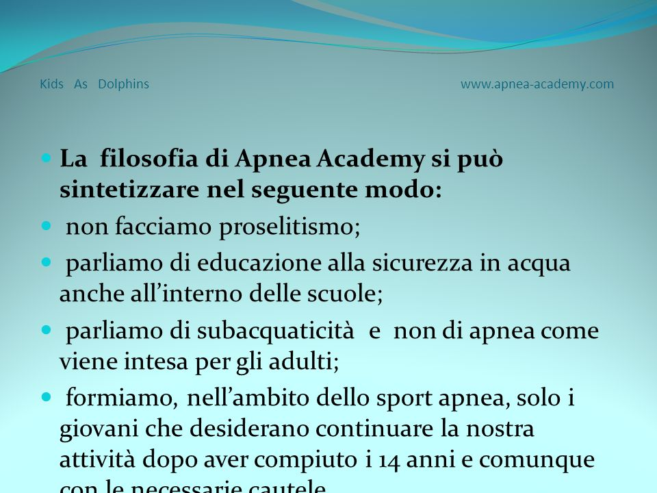 Kids As Dolphins www.apnea-academy.com