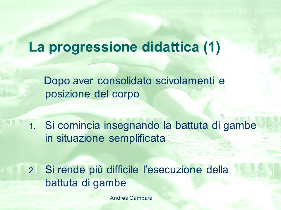La progressione didattica (1)