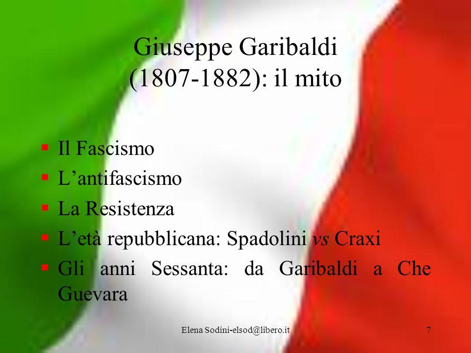 Giuseppe Garibaldi (1807-1882): il mito