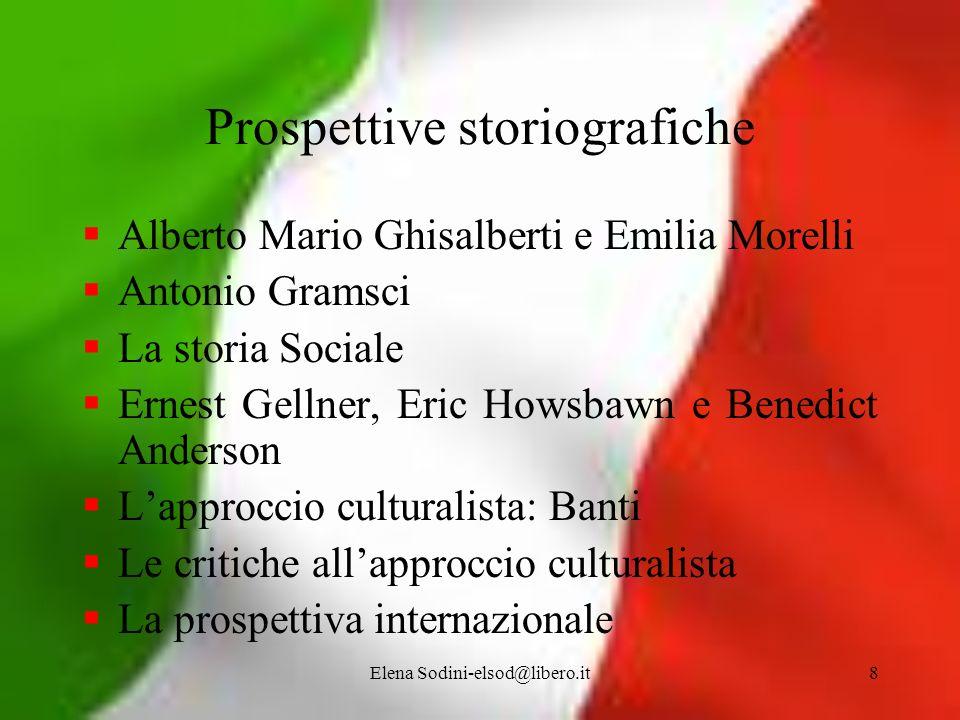Prospettive storiografiche