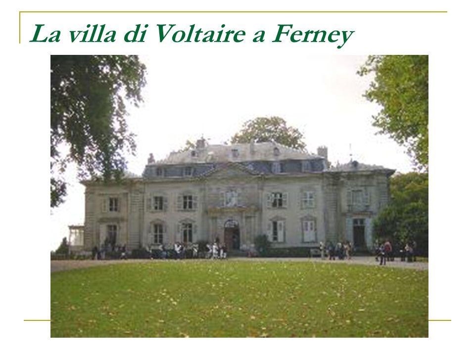 La villa di Voltaire a Ferney