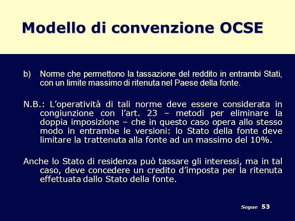 Modello di convenzione OCSE