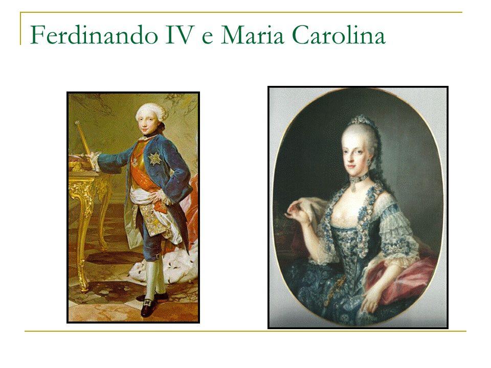 Ferdinando IV e Maria Carolina