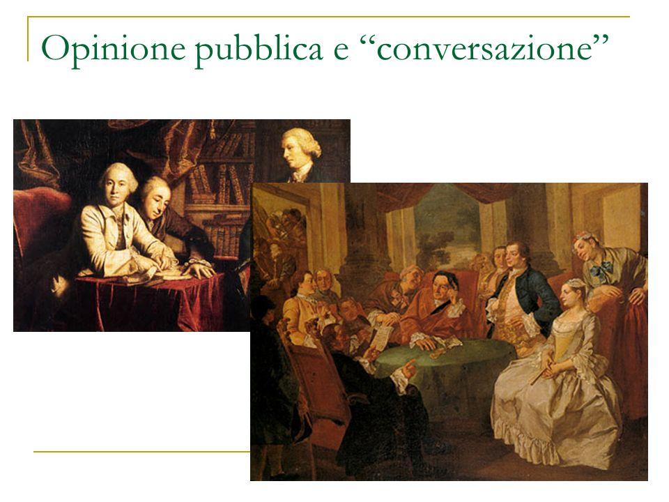 Opinione pubblica e conversazione