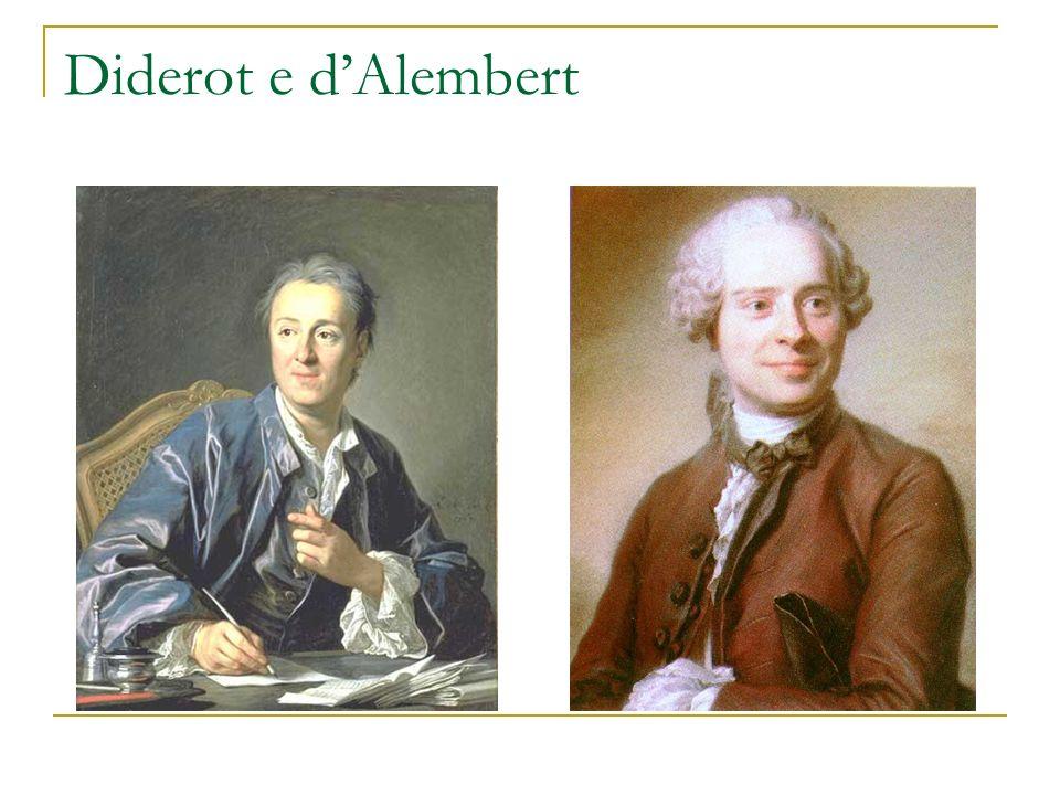 Diderot e d'Alembert