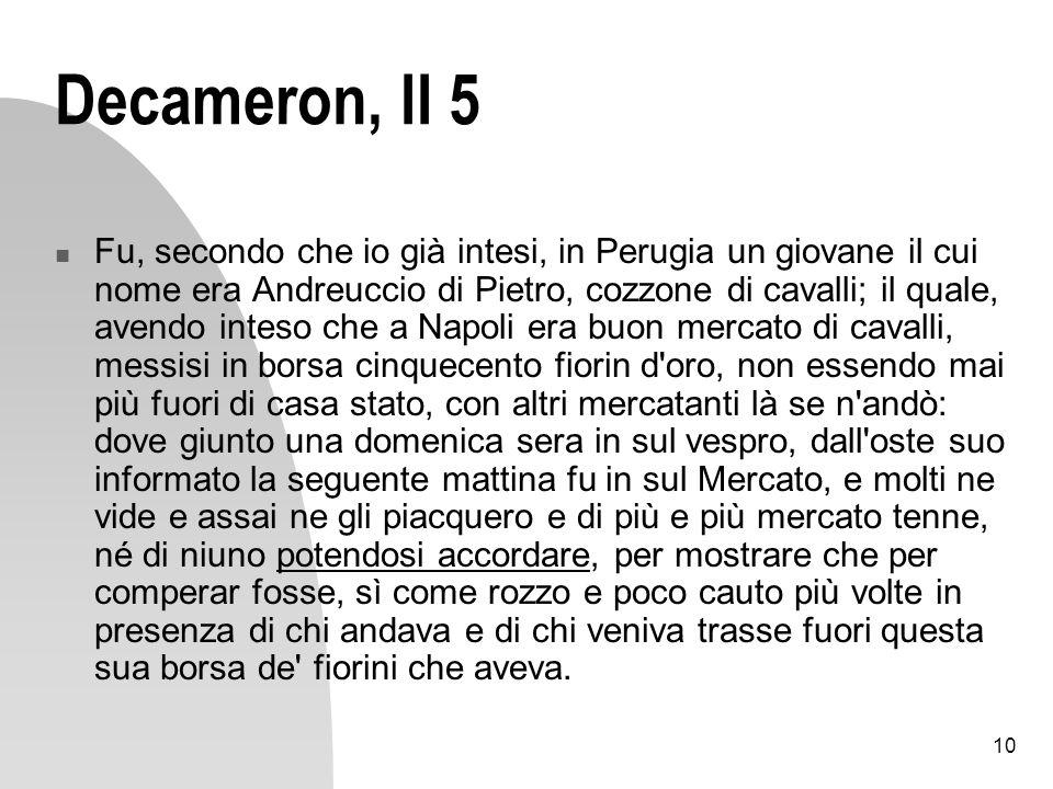 Decameron, II 5