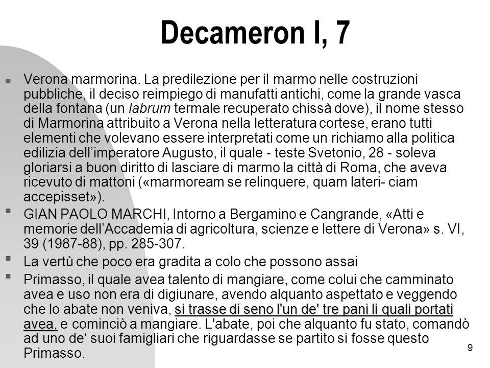 Decameron I, 7