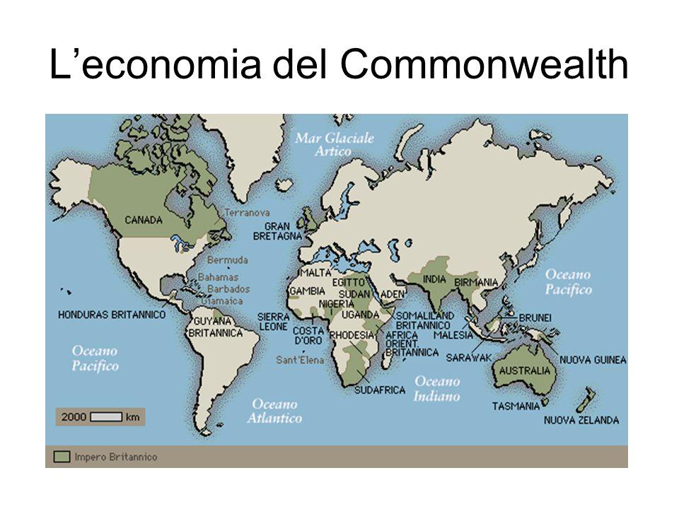 L'economia del Commonwealth