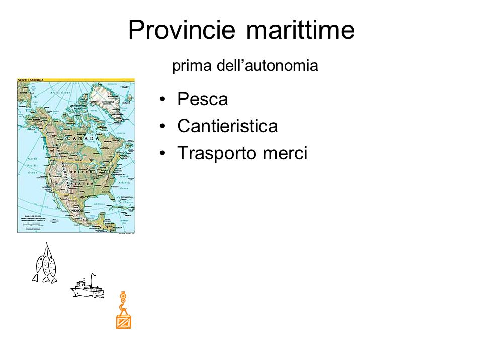 Provincie marittime prima dell'autonomia