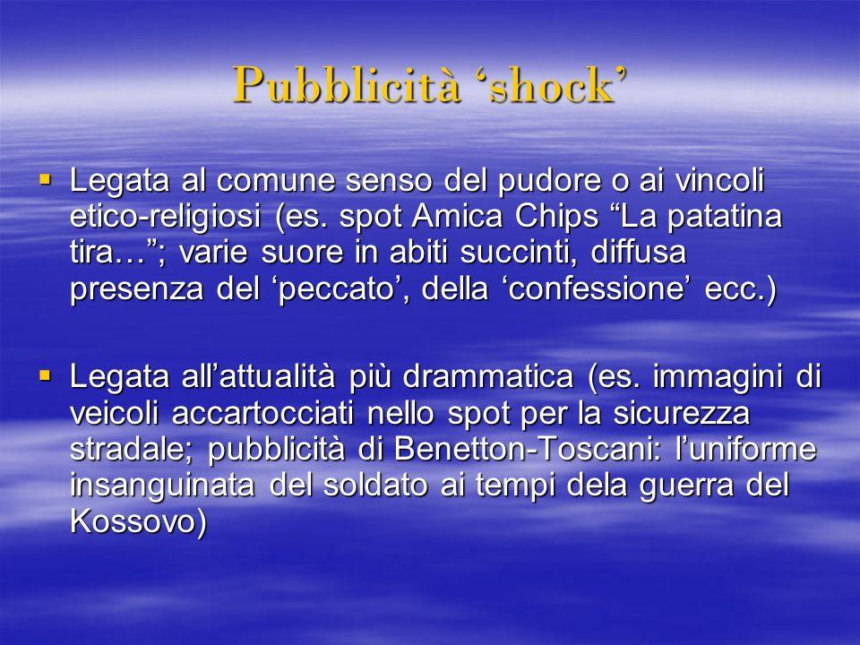 Pubblicità 'shock'