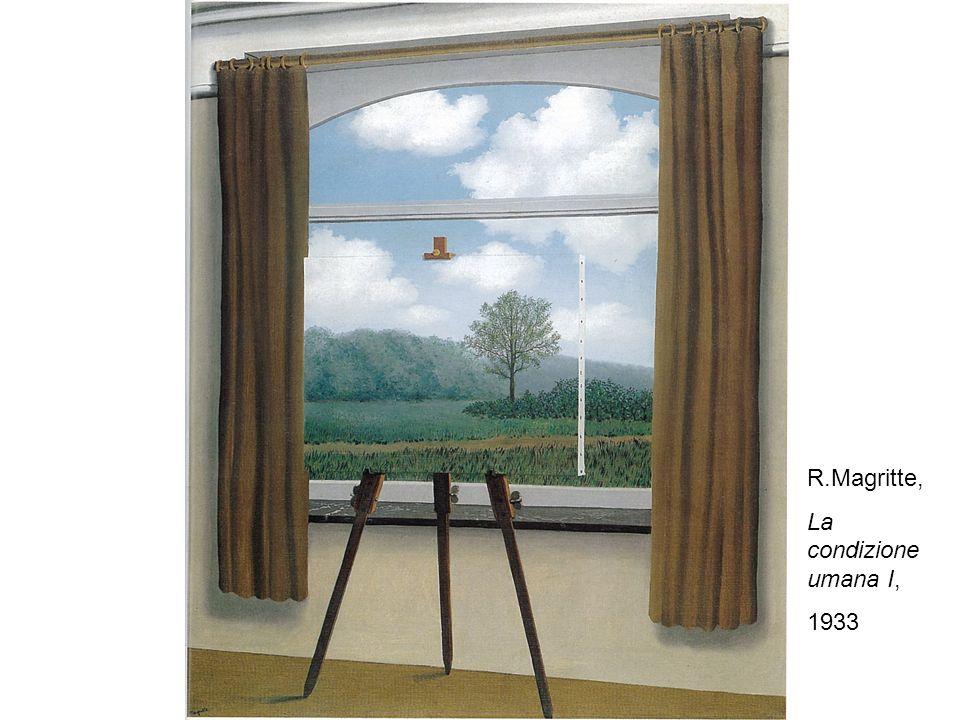 R.Magritte, La condizione umana I, 1933