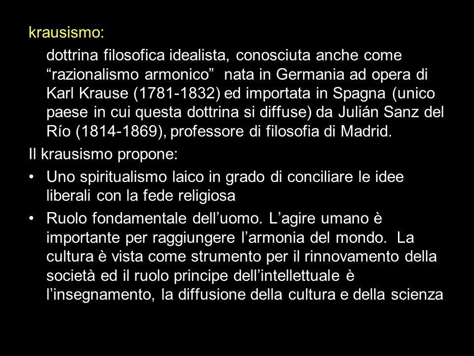 krausismo:
