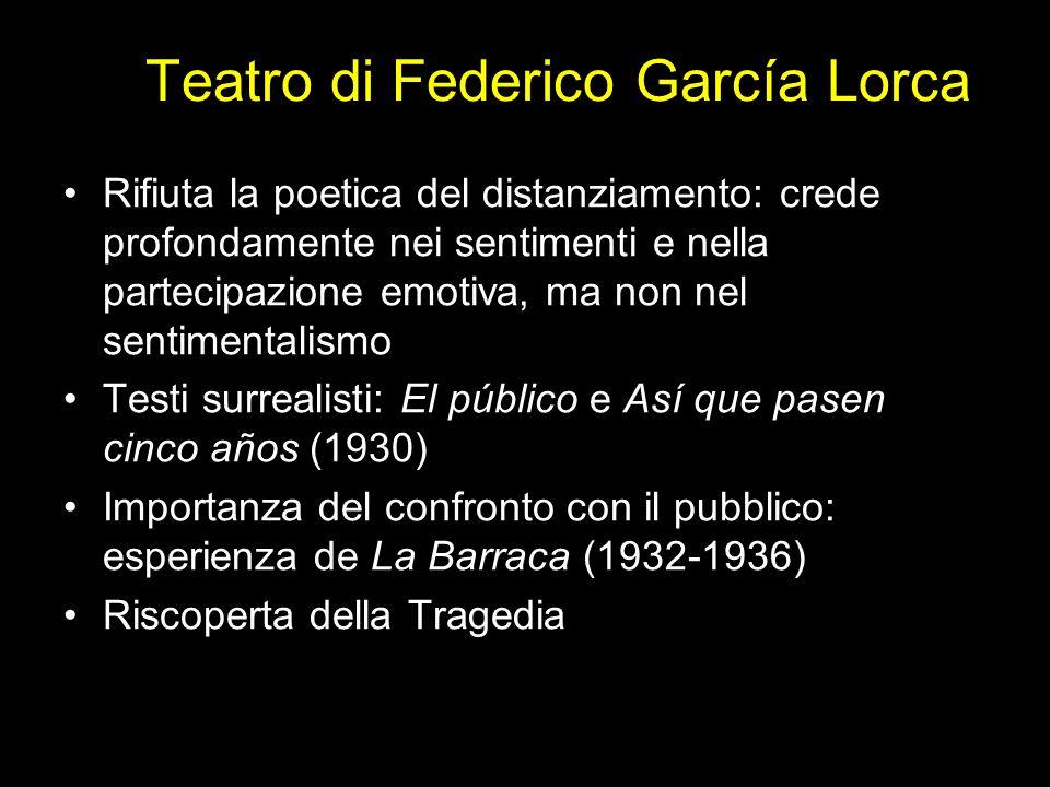 Teatro di Federico García Lorca