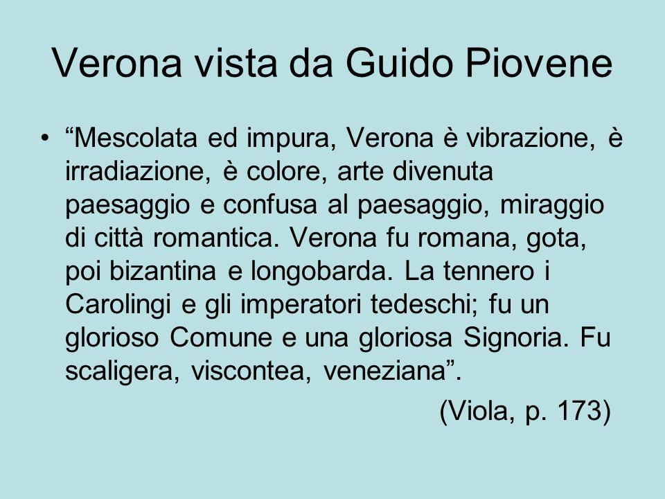 Verona vista da Guido Piovene