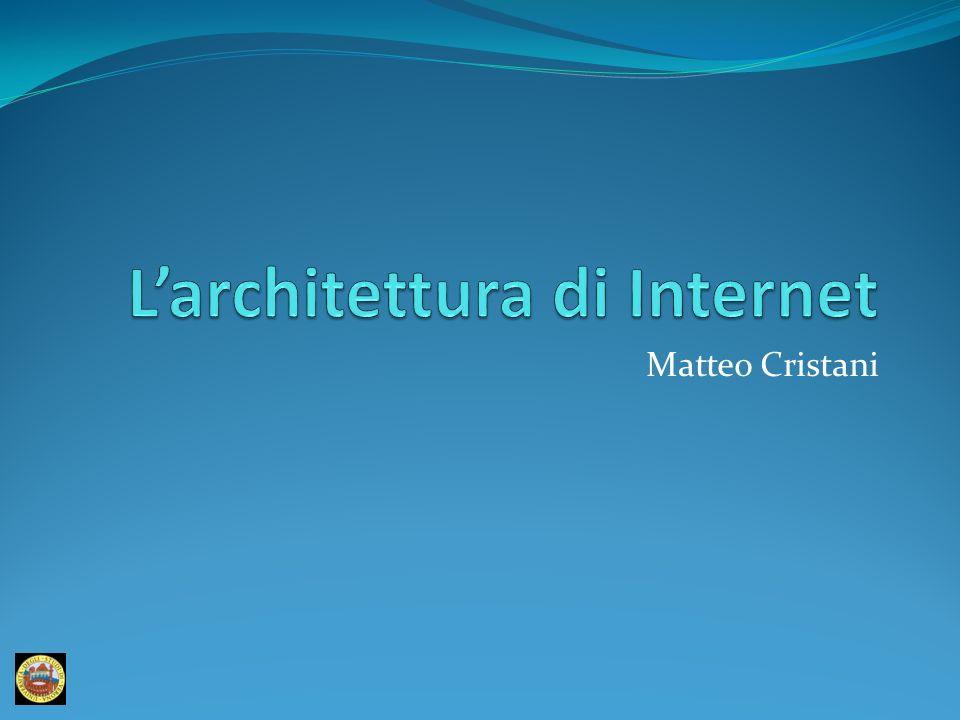 L'architettura di Internet