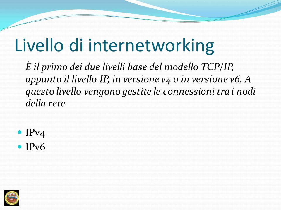 Livello di internetworking
