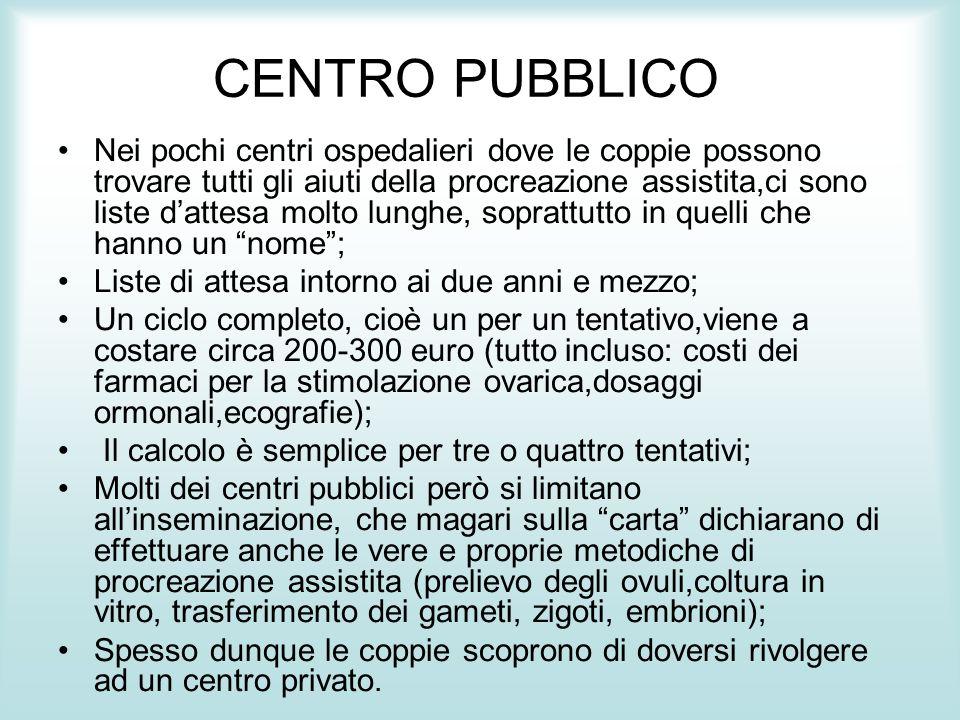 CENTRO PUBBLICO