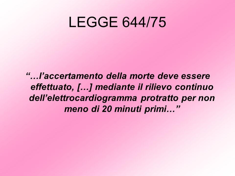 LEGGE 644/75